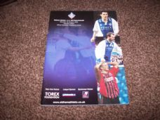 Oldham Athletic v Bournemouth, 2001/02